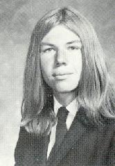 High School photo, around 1970